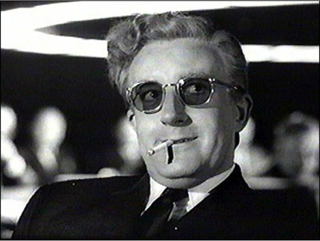 Dr. Strangelove, or: How I Learned to Stop Worrying and Love the Bomb. Dir. Stanley Kubrick (1964) © Columbia Pictures