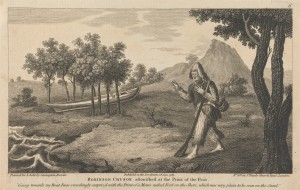 Twelve Illustrations of Robinson Crusoe