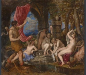 Figure 7: Titian, 'Diana and Actaeon', 1556-59 © The National Gallery London / The National Galleries of Scotland