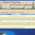 Digital Archive and Pacific Cultures