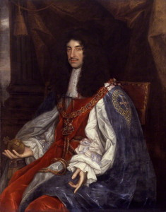 King Charles II by John Michael Wright. oil on canvas, circa 1660-1665 NPG 531 © National Portrait Gallery, London