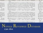<em>The Novels Reviewed Database, 1790-1820 (NRD)</em>